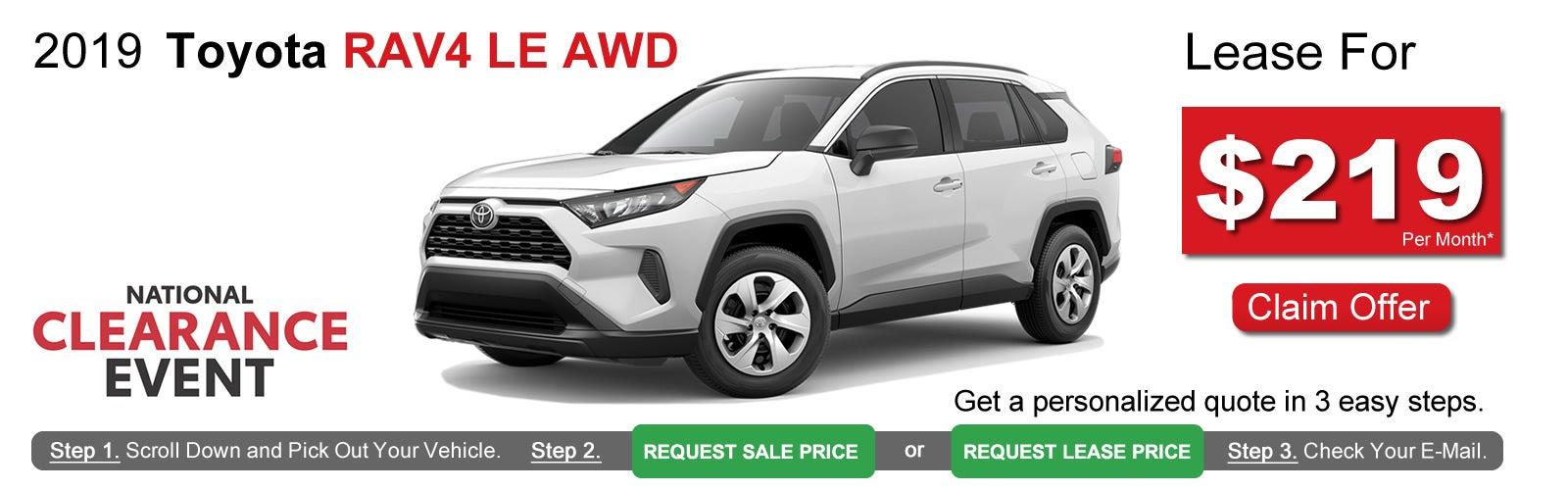 Toyota Lease Deals >> Toyota Rav4 Lease Deals Near Boston Ma Lease Offers