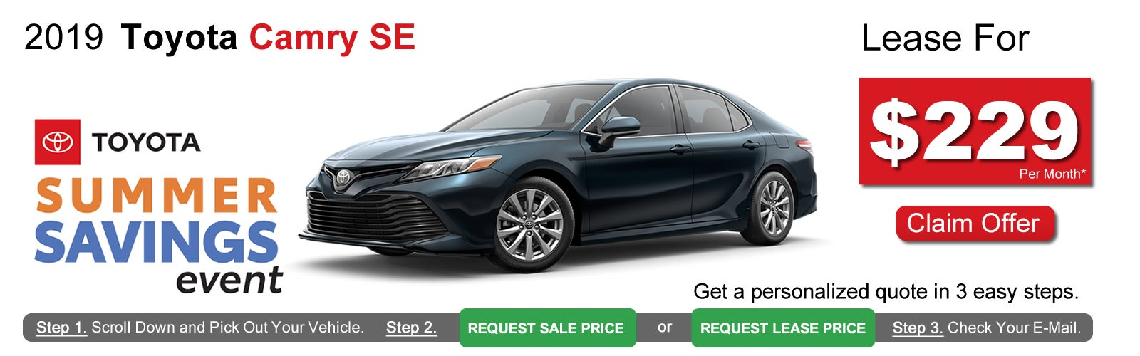 Toyota Lease Deals >> Toyota Camry Lease Deals Near Boston Ma Lease Offers